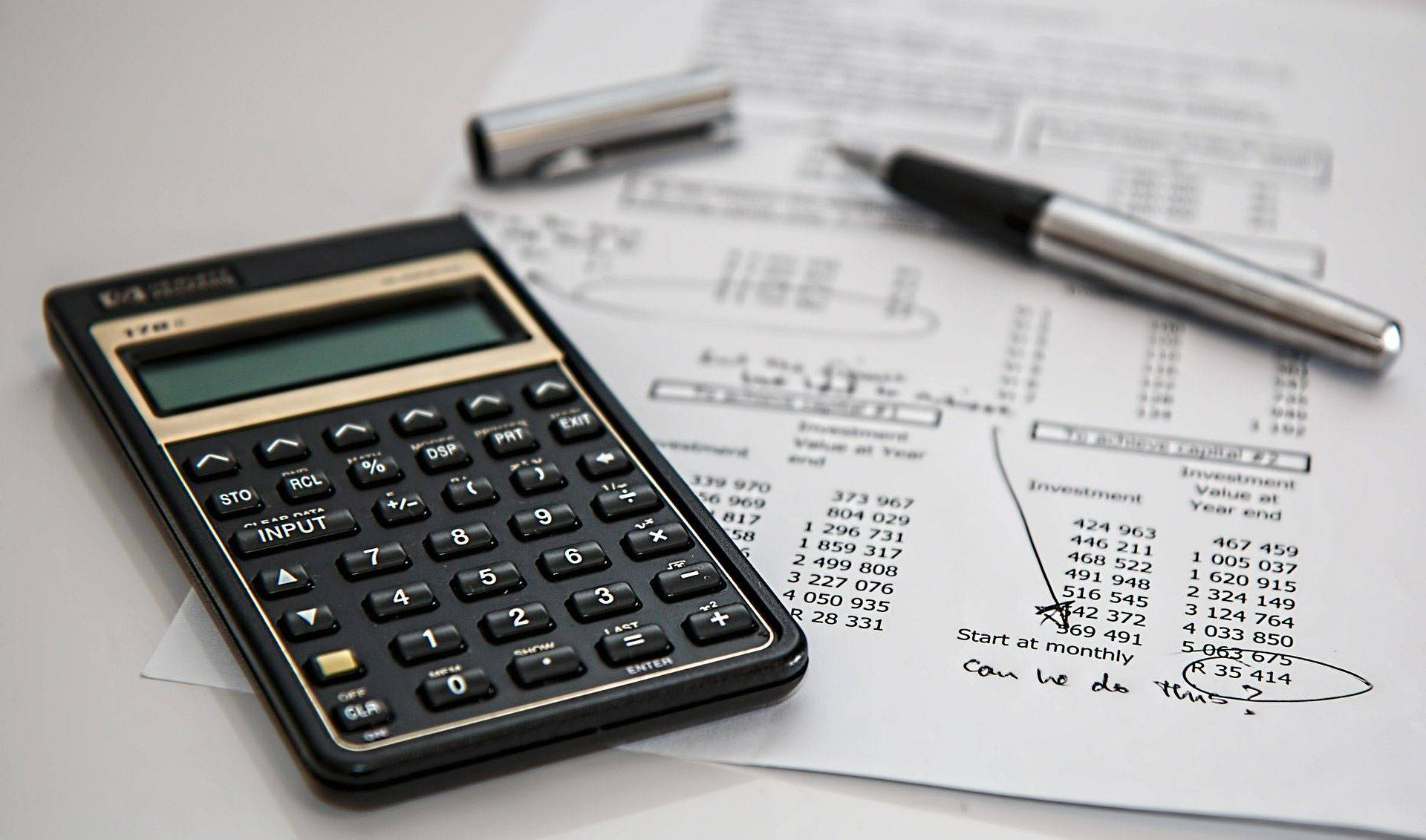 Imagem representa cálculo de Imposto ICMS