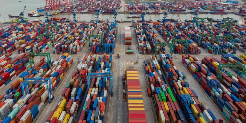 Congestionamento nos portos da China